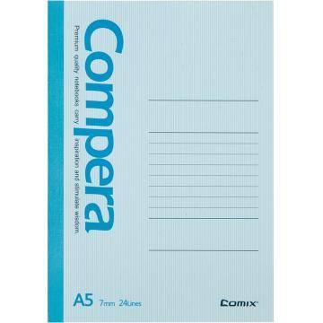 齐心 Compera无线装订本,A5,CGA5607 60页 颜色随机 单位:本(售完为止)