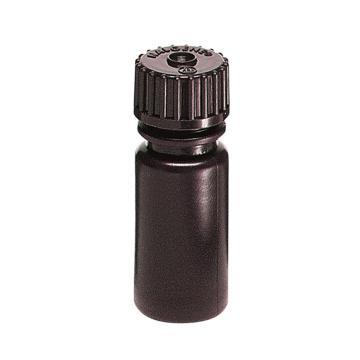 棕色窄口瓶,125 ml,HDPE
