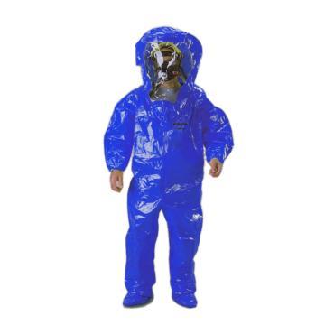 雷克兰ICT450-L B级连体防化服,蓝色