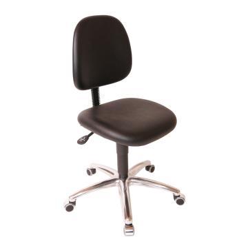 工作椅,MEY工作椅 ,PVC仿皮坐垫 黑色高度调幅540-680mm