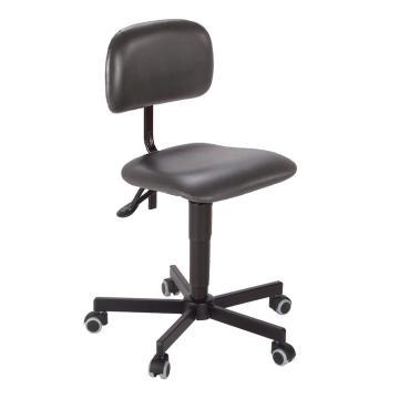 工作椅,MEY工作椅, 高度调幅440-590mm 带刹车的硬地脚轮