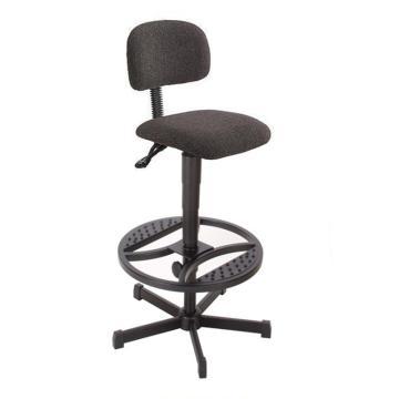 工作椅,MEY工作椅, 黑色布料 高度调幅580-840 mm