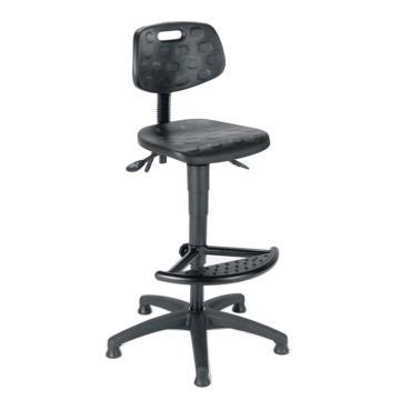 工作椅,MEY工作椅,黑色 高度调幅600-855mm 带脚踏 不可旋转(散件不含安装)