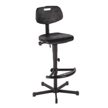 工作椅,MEY工作椅,黑色 高度调幅655-900mm 带踏环 不可旋转