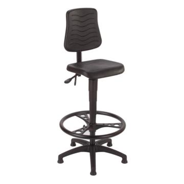 MEY工作椅,黑色 高度调幅640-880mm 带踏环(散件不含安装)