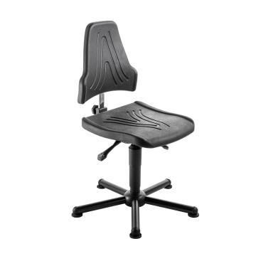 MEY工作椅,聚氨酯坐垫 高度调幅490-630mm 黑色