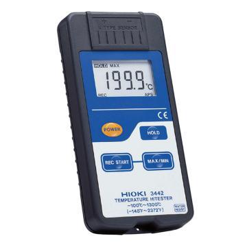 日置/HIOKI 3442测温仪 需另配温度探头,防护等级IP54
