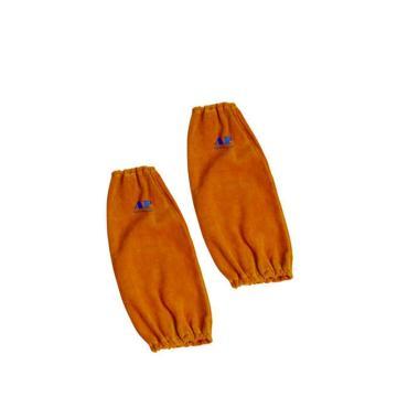 友盟 焊接袖套,AP-9116,金黄色全皮手袖 40cm