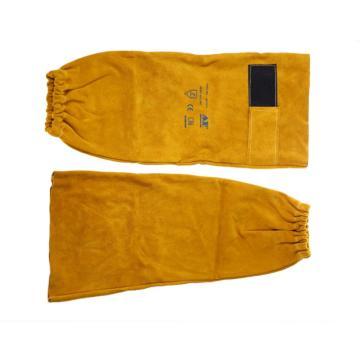 友盟 焊接袖套,AP-9119,金黄色魔术贴长手袖 48cm