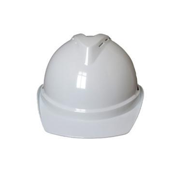 禄华ABS安全帽,白色,正面印国电logo(同系列30顶起订)