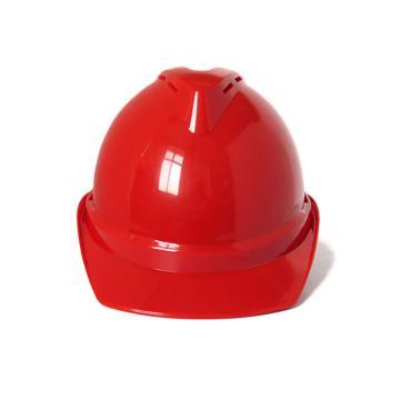 禄华ABS安全帽,红色,正面印国电logo(同系列30顶起订)