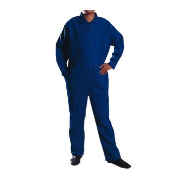 威特仕 连体式工作服,33-8200-M,火狐狸系列 蓝色