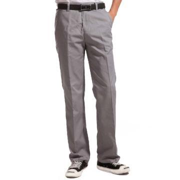 拓吉凯涤棉斜纹浅灰裤子,XL