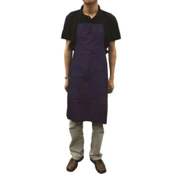 西域推荐 布围裙,B002,涤卡材质 藏青色 宽69cm 长85cm