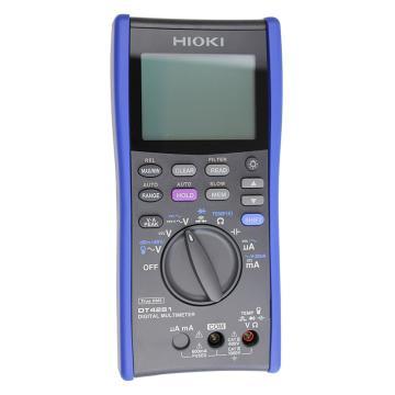 日置/HIOKI 数字万用表,四位半高精度 直流+交流电压 DT4281
