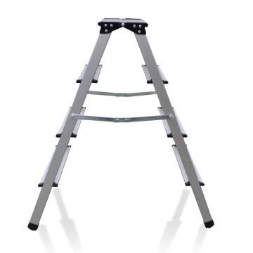 金锚 铝合金梯凳,踏板数:4 额定载荷(KG):150 工作高度(米):0.88,LFD88AL