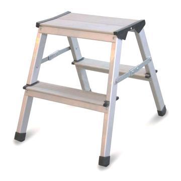 金锚 铝合金梯凳,踏板数:2 额定载荷(KG):150 工作高度(米):0.44,LFD44AL