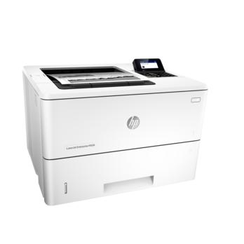 惠普黑白激光打印机M506dn标配(有线网络/自动双面/2个纸盒)