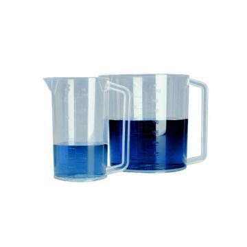 带手柄的刻度烧杯,聚甲基戊烯,1000ml容量