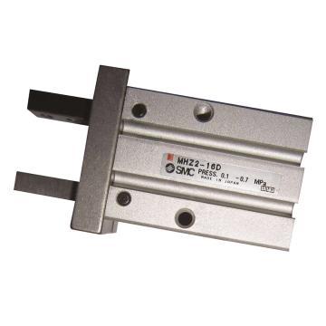 SMC 平行开闭型气爪,双作用,MHZ2-25D