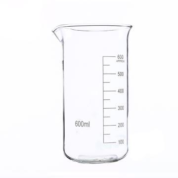高形烧杯,600ml,6个/盒