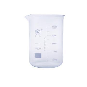 低形烧杯,10000ml,1个/盒