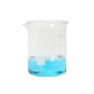 低形烧杯,400ml,10个/盒