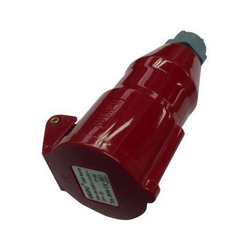 威浦 TYP系列工业连接器,4P 16A 400V IP44 红色,2618,10只/盒