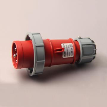 威浦TYP系列工业插头,4P 16A 400V IP67 红色,173