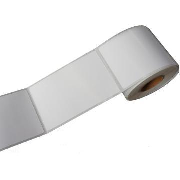 纸质平面标签 50MM*80MM 白色 180张/卷 适配璞趣Q10