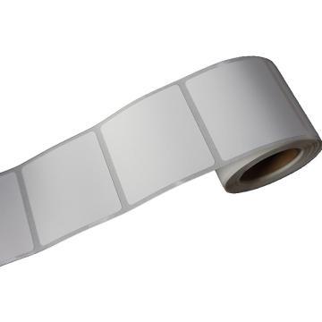 纸质平面标签 50MM*50MM 白色 280张/卷 适配璞趣Q10