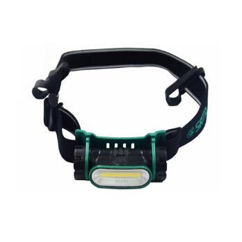 世达 90716 防水锂电头灯,带安全帽扣