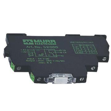 穆尔/MURR  MIRO 6.2 24VDC-1U,52001继电器