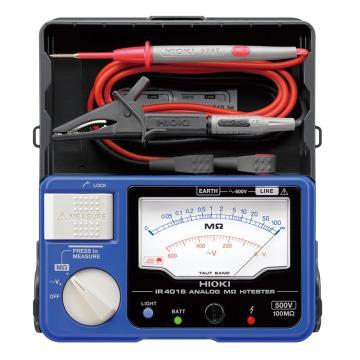 日置/HIOKI 指针式绝缘电阻表,500V 100MΩ IR4016-20