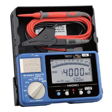 日置/HIOKI 数字式绝缘电阻表,50V/125V/250V/500V/1000V IR4057-20 替代停产的3453