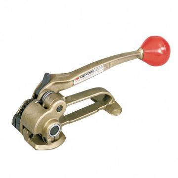 手动收带式钢带拉紧器, 宽度:9.5-19mm 厚度:0.43--0.58mm