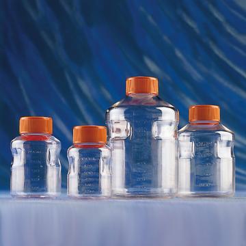 瓶子,1000ml,0.45mm,PS材质,带盖,灭菌,2/包