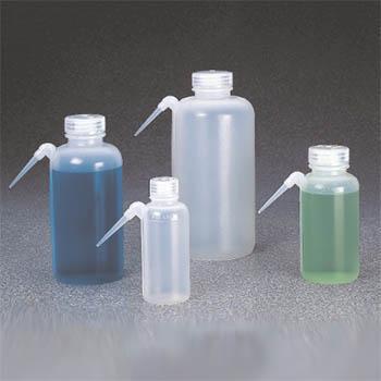 NALGENE广口UnitaryTM洗瓶,低密度聚乙烯瓶体/装管;聚丙烯螺旋盖,500ml容量
