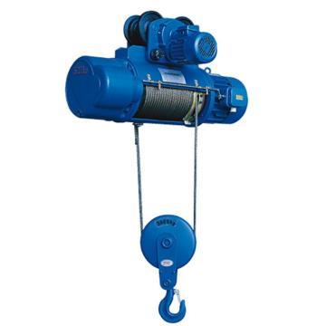 沪工CD1型运行式钢丝绳电动葫芦 3T*6M