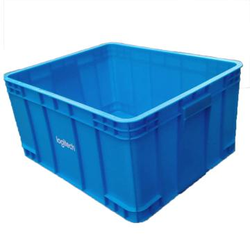 560系列箱,无盖子,蓝色,内尺寸:560*460*290,外尺寸:600*500*300