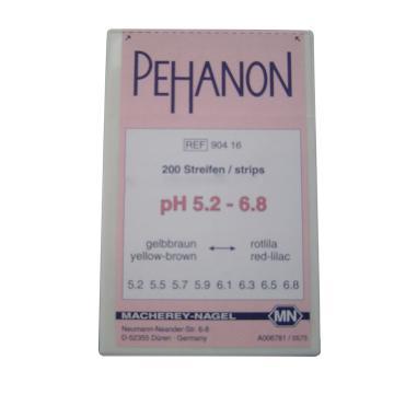 MN PEHANON系列酸碱试纸,pH5.2-6.8,90416,2盒起订