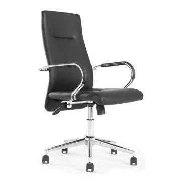 办公椅,尺寸101*60*68(PU扶手)黑牛皮(散件不含安装)