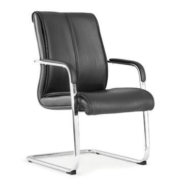 办公椅,尺寸96*58*70 黑牛皮(散件不含安装)
