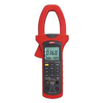 优利德/UNI-T UT233数字钳形功率计,单交流,真有效,相序可测