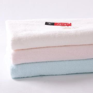 金号浴巾,370g 145*80cm SK/3001WH,无捻提缎绣浴巾