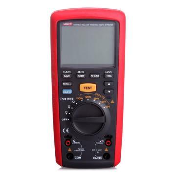 优利德/UNI-T UT505A手持式绝缘电阻测试仪,最高耐压1KV,20GΩ测试电阻