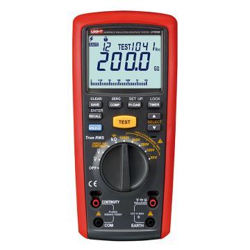 优利德/UNI-T UT505B手持式绝缘电阻测试仪,最高耐压1KV,500GΩ测试电阻