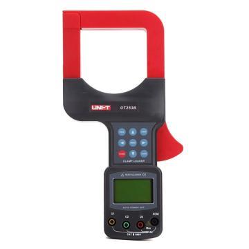 优利德/UNI-T 钳形表,单交流,钳口直径80mm,2000A泄漏电流可测,UT253B