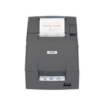 爱普生Epson TM-U288D小票76MM票据打印机 黑色 288D-并口不带切刀