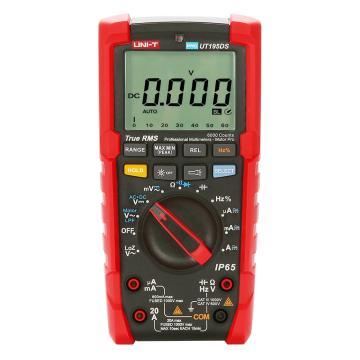 优利德/UNI-T UT195DS三防万用表,600mV-1000V,马达相序测量、双显模式